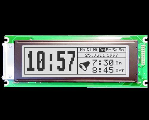 240x64 Graphic Display White EA W240W-6K2LW