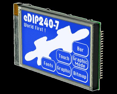 "4.2"" eDIP Intelligent Graphic Display EA EDIP240B-7LW"