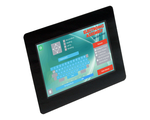 """5.0"""" uniTFT/IPS multifunctional Graphic Display + PCAP touch"""