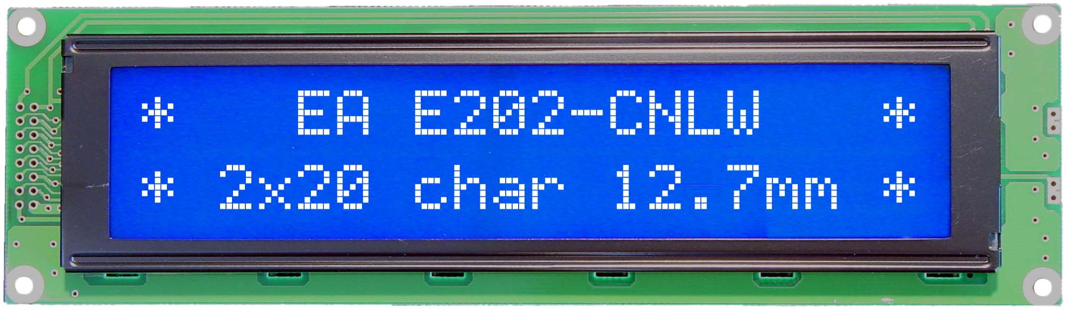 2x20 Character Display EA E202-CNLW