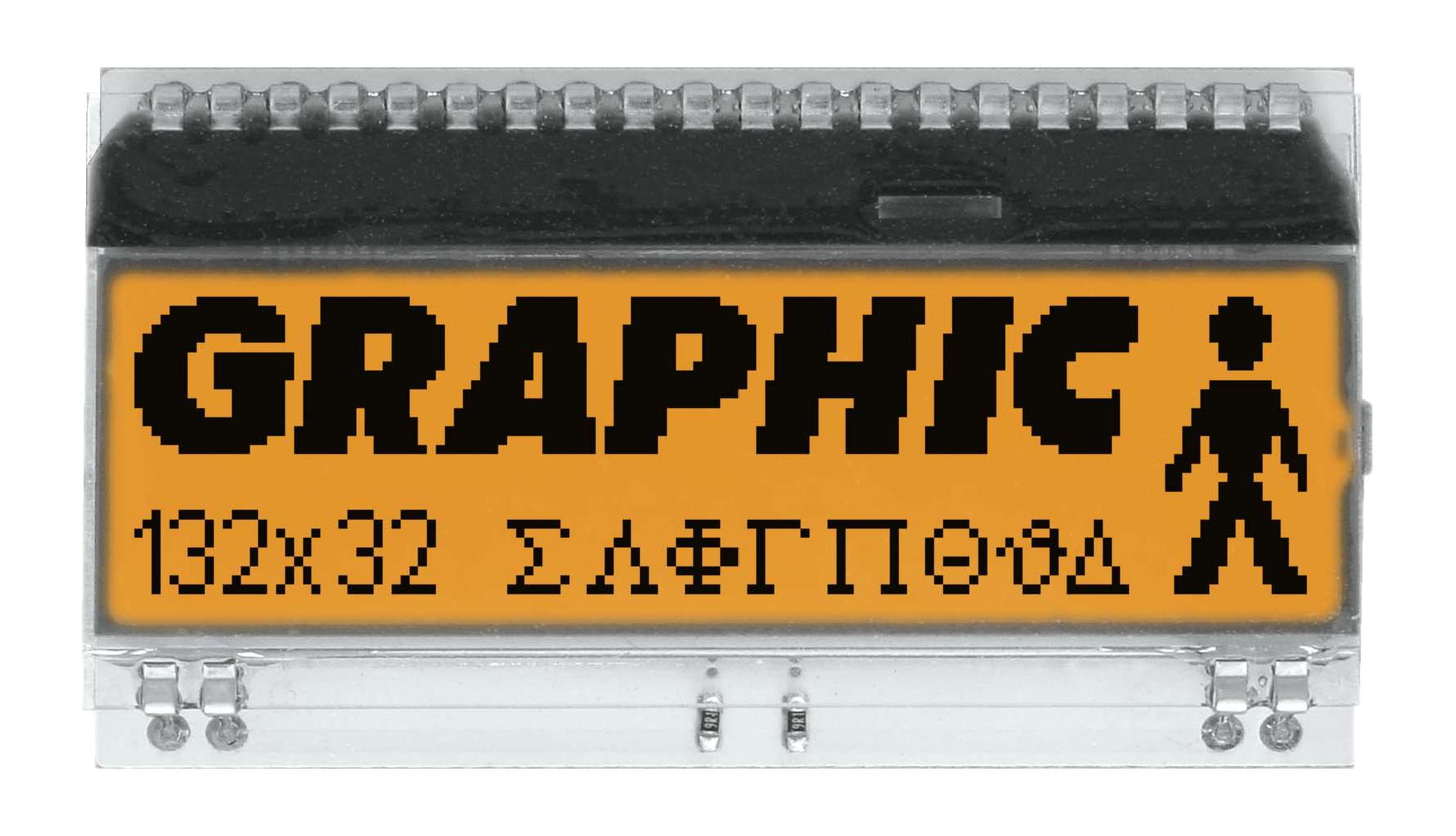 132x32 DOG Graphic Display