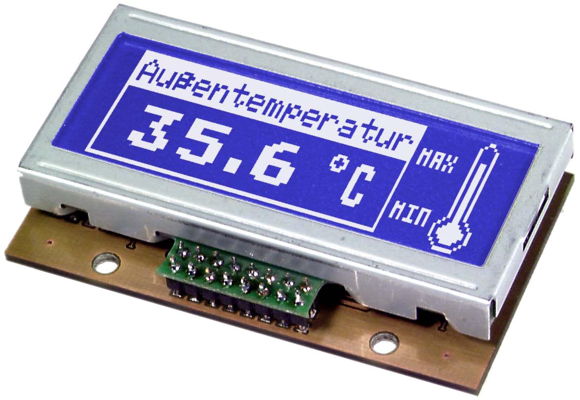 120x32 serial Graphic display EA GE120B-5NV24