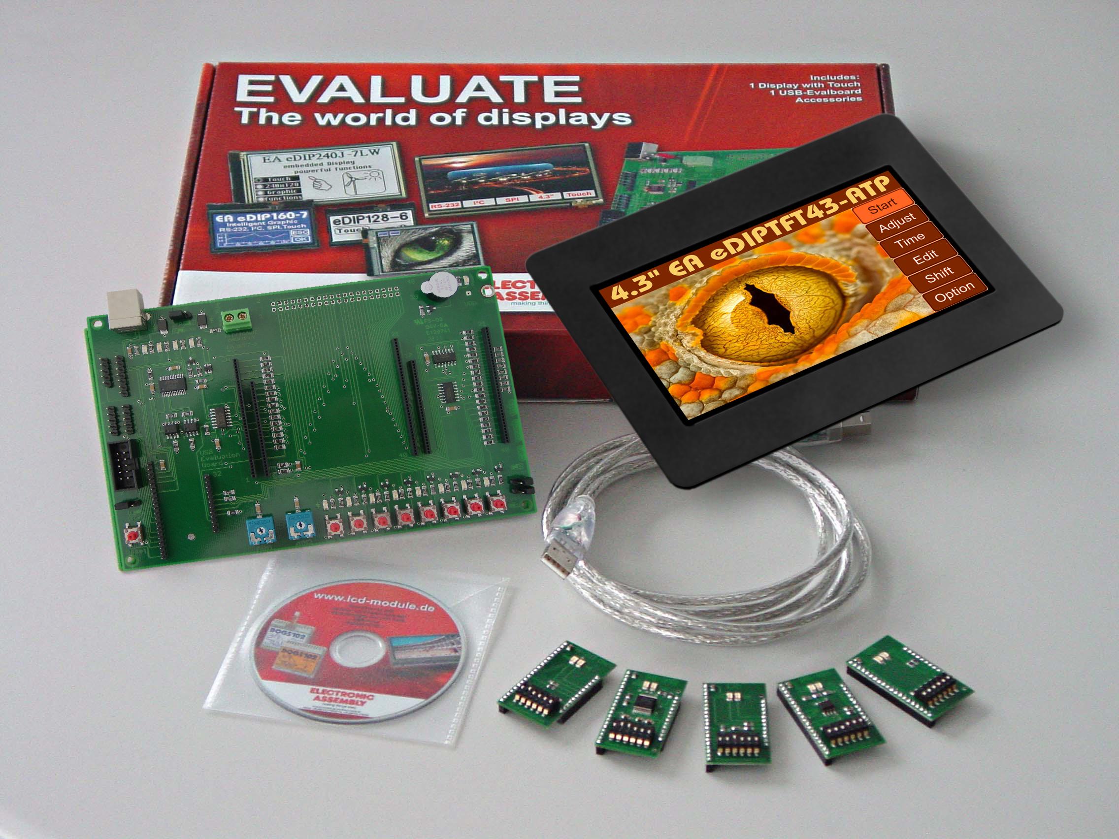 Evaluation KIT with EA eDIPTFT43-ATC