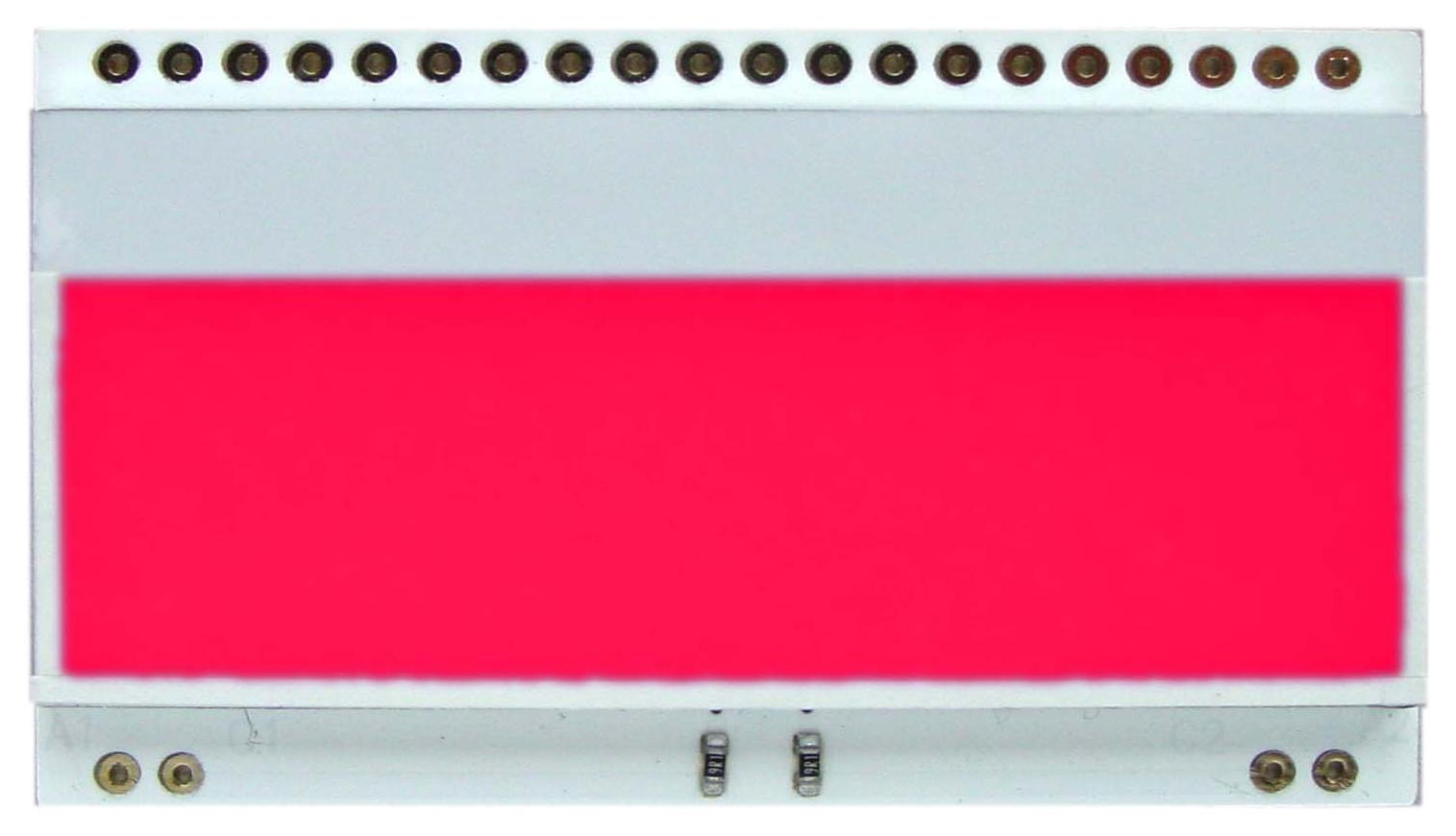 LED backlit RED for EA DOGM018,162,163,132
