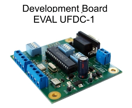 EVAL UFDC-1 Evaluation board with RS232 Interface