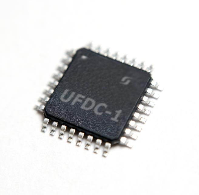 UFDC-1 Sensor to Digital Transducer serial, SPI and I2C Interface (TQFP)