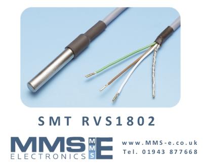 Digital Temperature probe sensor, 0.1 °C accuracy SMTRVS1802